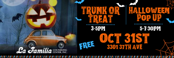 Trunk or Treat – Halloween Pop Up